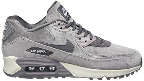 Nike Donne Air Max 90 Lx Esecuzione Gunsmoke Pattino / Gunsmoke