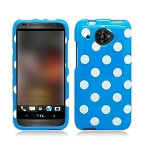AIMO Trendy Polka Dots Design Case for HTC Zara / Desire 601 [Virgin Mobile]