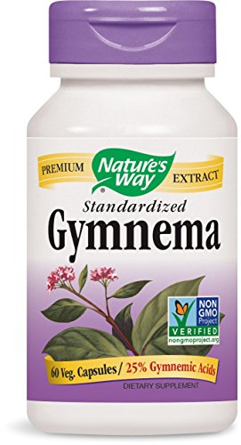 Nature's Way Gymnema Capsules, 500 mg, 60 Count