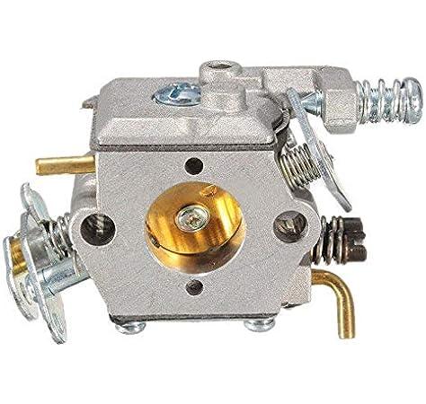 WANWU Carburador Carb Piezas de Repuesto para Husqvarna Partner 350 351 370 371 420 Motosierra Motor Carb Piezas de Repuesto #503 28 32-08.: Amazon.es: Jardín