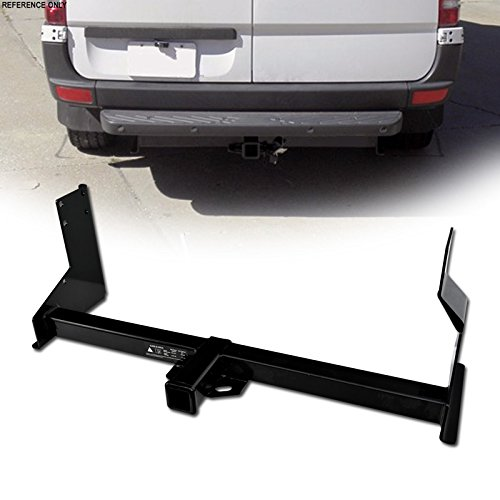 VXMOTOR for 2007-2010 Dodge / 2007-2016 Mercedes-Benz/Freightliner Sprinter Cargo Van 2500 3500 Class 3 III Trailer Towing Hitch Mount Receiver Rear Bumper Utility Tow Tube Kit 2