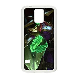 Samsung Galaxy S5 Cell Phone Case White League of Legends Blade Queen Lissandra VB6997792