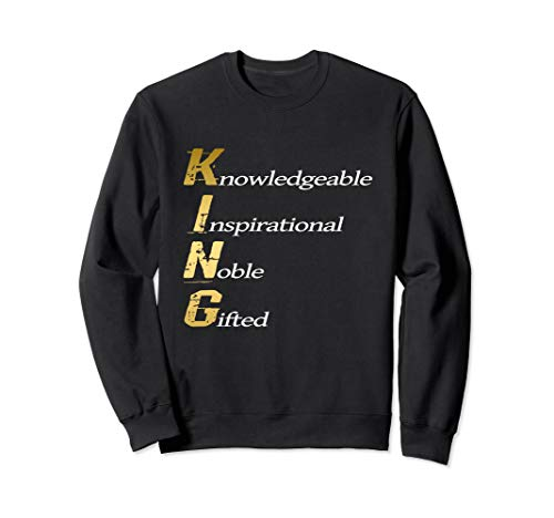 Black Consciousness African King Noble Gift Sweatshirt