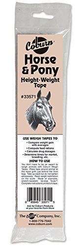 (Coburn Horse & Pony Weigh Tape)