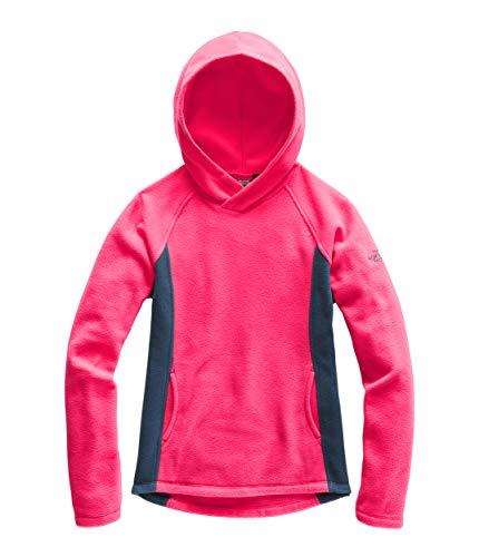 The North Face Girl's Glacier Pullover, Atomic Pink, Size XXS (Girls Jacket Denali Fleece)