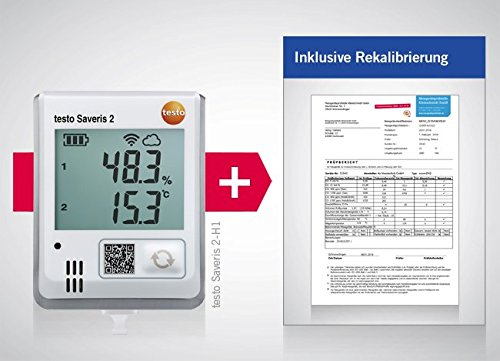 Luftfeuchtigkeit alimentatore Messgr/ö/ße Temperatur 30 fino a 50 Testo Multi-Datenlogger Saveris 2-H1
