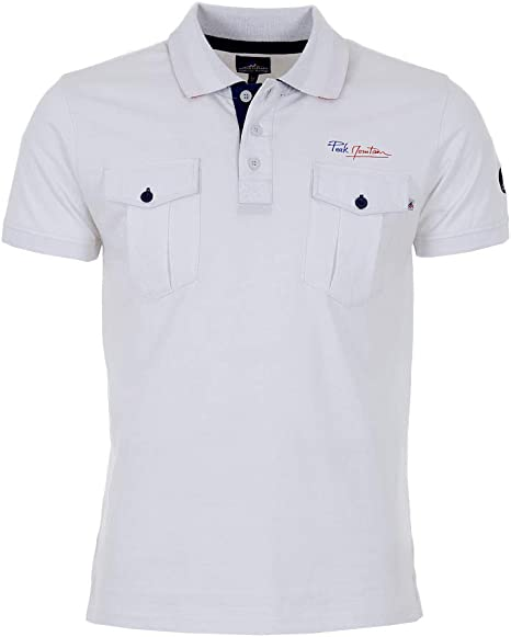 Peak Mountain - Polo Esponja Mangas Cortas Hombre COCHEAK-Blanco ...