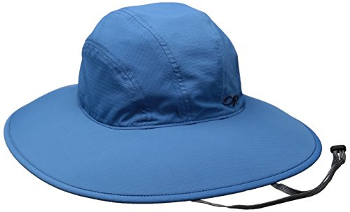 Outdoor Research Women's Oasis Sun Sombrero, Cornflower, Medium