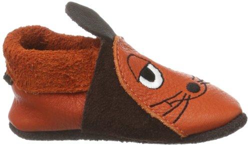 Pololo Maus 1 - Zapatillas sin cordones marrón - Braun/braun/orange