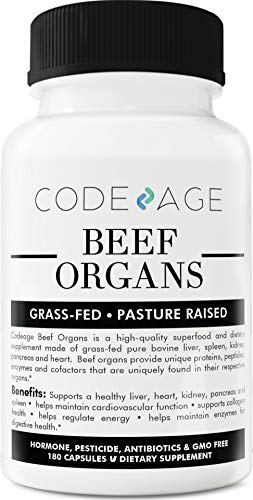 Codeage Grass Organs Desiccated Count