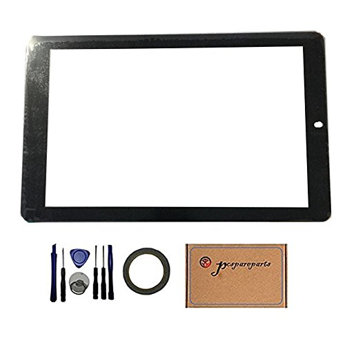 Pcspareparts Replacement Digitizer Touch Screen for RCA RCT6K03W13 H1 10.1'' Android Tablet by pcspareparts