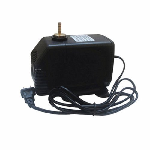 TOPCHANCES Engraving Machine Submersible Pump Spindle Motor Cooling Water Pump 220V (3.5m 75w 3500L/H)