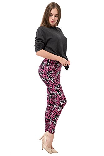 Fashion Stripe Printed Leggings Pattern