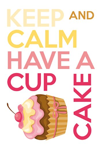 Crearreda CR-62403 Keep Calm and Cupcake Quote Decal (Wall Decals Keep Calm compare prices)