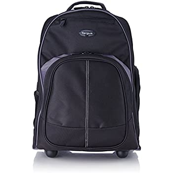 "Amazon.com: 16"" Compact Rolling Backpack, Black: Computers ..."
