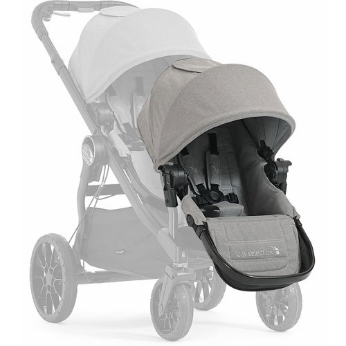 Baby Jogger City Select Lux with Second Seat Double Stroller - Slate by Baby Jogger (Image #4)