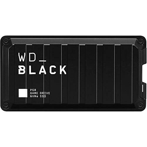 chollos oferta descuentos barato WD BLACK P50 Game Drive de 500 GB Velocidades SSD Portátil NVMe hasta 2000MB s Funciona con PC Mac o Consola Estándar
