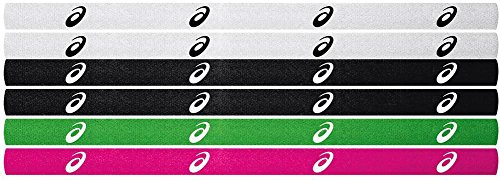 ASICS Women's Team Headband (6-Pack), Assorted Color, One Size