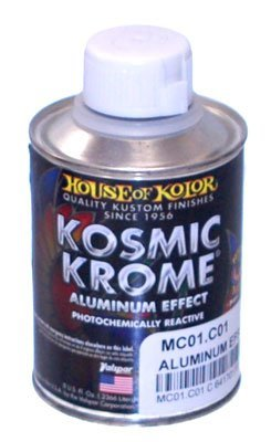 House of Kolor MC00-HP Mirror Relective Effect 8 Oz Kosmic Chrome by House of Kolor