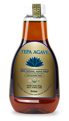 100% Agave Tequila (Tepa Agave 100% Pure Organic Blue Agave Syrup - Amber Agave Flavor - 23.8 oz)