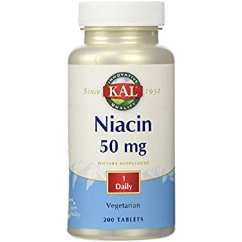 Niacin 50mg - 200 - Tablet