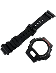 Casio Genuine Factory Replacement Resin Watch Band & Bezel Set fits DW-6600-1V DW-6600C-1V DW-6900-1V DW-6900BD-1V
