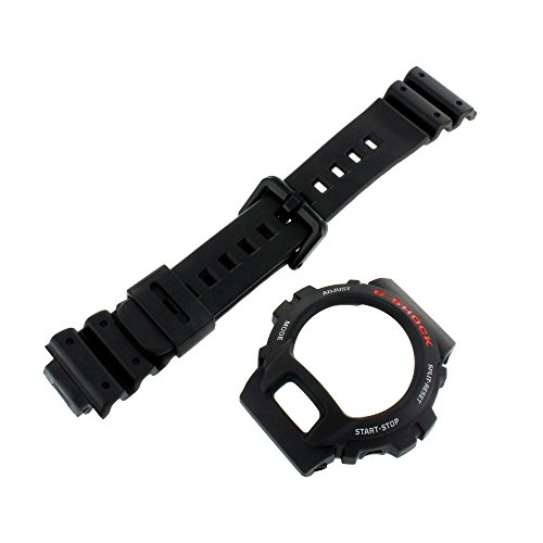 Casio Genuine Factory Replacement Resin Watch Band & Bezel Set fits DW-6600-1V DW-6600C-1V DW-6900-1V DW-6900BD-1V ()