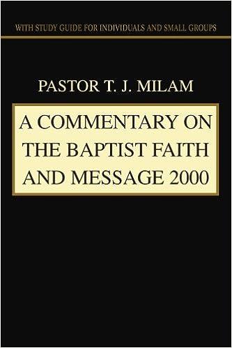 BAPTIST FAITH MESSAGE 2000 EPUB