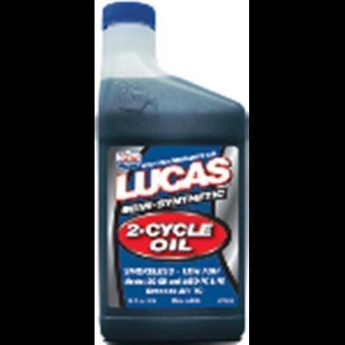 (Lucas 10120 semi-synthetic 2-cycle oil 16o z (10120))