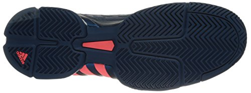 adidas Performance Herren Barricade 2016 Boost Tennisschuhe Tech Steel / Tech Stahl / Flash Red
