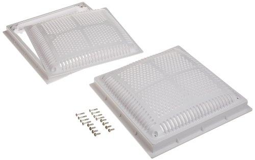 Hayward WG1032HF2PAK2 12-Inch Dual Pak High Flow Drain Cover and Frame ()