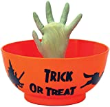 Halloween Animated Prop Decoration: Monster Hand in Orange Bowl