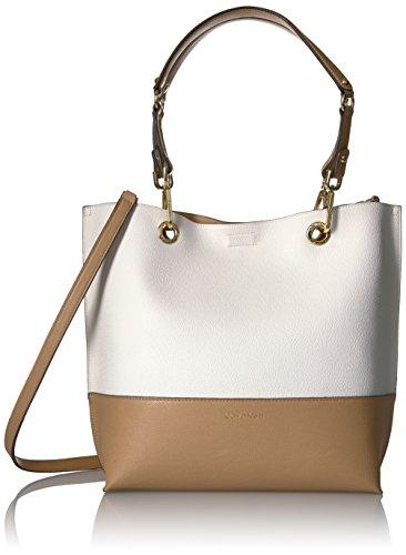 Calvin Klein Sonoma Reversible Novelty Textured Lace Tote, White