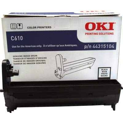 Series Black Image Drum - Oki 44315104 OEM Drum - C610 Series Black Image Drum (20000 Yield) OEM