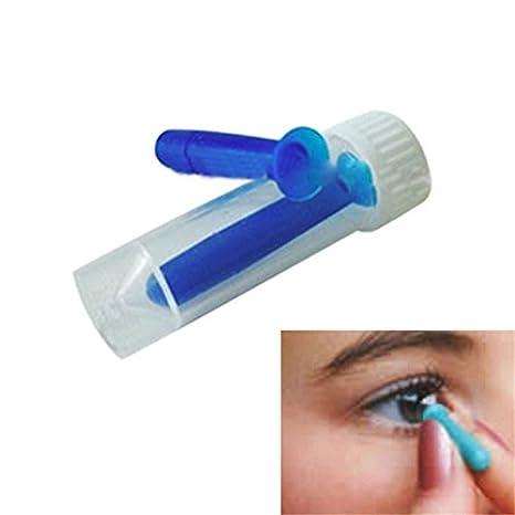 Insertador y removedor de lentes de contacto Velishy: Amazon ...