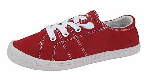 Jellypop Womens Dallas Sneaker Rosso