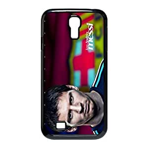 Barcelona Lionel Andr¡§|s Messi soccer and football Classic Design Print Black Case With Hard Shell Cover for SamSung Galaxy S4 I9500