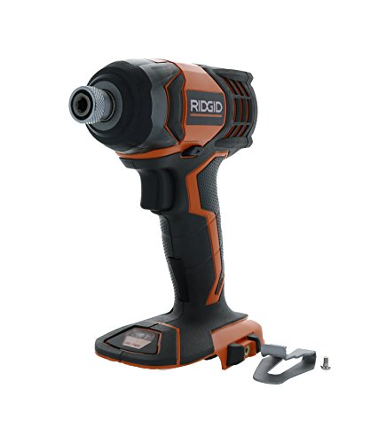 Rigid Power Tools (Ridgid R86034 X4 18V Lithium Ion 1750 LBS Torque 1/4 Inch Hex Shank Impact Driver (Battery Not Included, Power Tool Only))