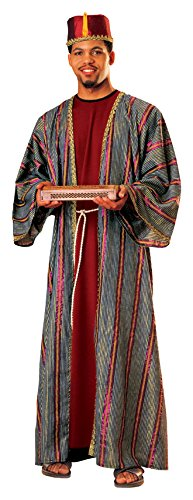 Rubie's Men's Balthazar Wiseman Costume, Multi, -