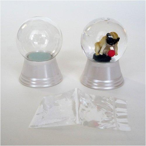 Snow dome do-it-yourself kit glass powder with size S (japan -