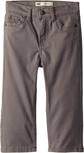 Price comparison product image Levi's Kids Baby Boy's 511 Slim Fit Sueded Pants (Infant) Dark Gull Grey 12 Months