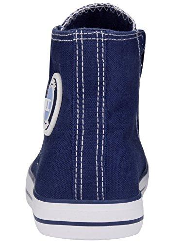 Tissu en Montantes Femme Coton oodji Ultra de Baskets wqvPqz