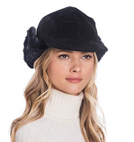 Eric Javits Luxury Fashion Designer Women's Headwear Hat - Anika - Black by Eric Javits