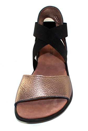 Arche Satia Women's Sandal in Black Nubuck 20 Moon JlJwHFZ