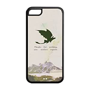 the Case Shop- How To Train Your Dragon Movie TPU Rubber Hard Back Case Silicone Cover Skin for iPhone 5C , i5cxq-607 by runtopwell