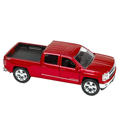 [Master Toys 2014 Chevy Silverado 1500 Pickup Red] (Classic Old Chevy Trucks)