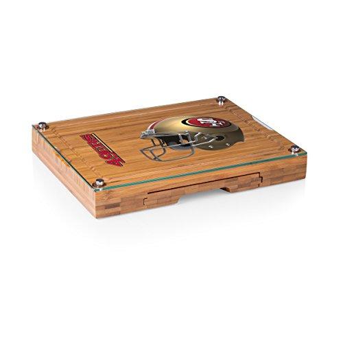 San Francisco 49ers Pique - PICNIC TIME NFL San Francisco 49ers Concerto 5-Piece Cheese Board Serving Set