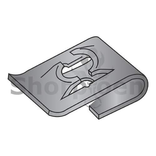 SHORPIOEN Type J Steel Spring Nut Black Phosphate C8049-10-4 BC-215059 (Box of 1000)