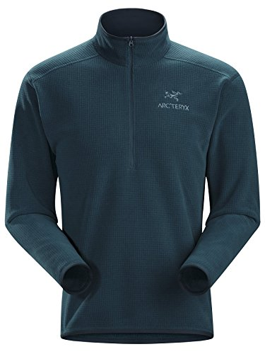 Arc'teryx Delta AR Zip Neck Mens Mid Layer - Large/Nocturne by Arc'teryx