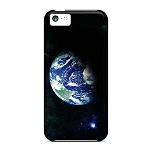 Durable Case For The Iphone 5c- Eco-friendly Retail Packaging(earth)